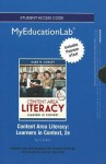 New Myeducationlab with Pearson Etext -- Standalone Access Card -- For Content Area Literacy: Learners in Context - Mark W. Conley