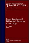 Some Questions of Differential Geometry in the Large - E. V. Shikin