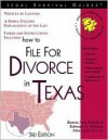 How To File For Divorce In Texas (Legal Survival Guides) - Karen Ann Rolcik, Edward A. Haman