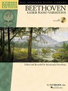 Ludwig Van Beethoven - Easier Piano Variations: With a CD of Performances Schirmer Performance Editions - Ludwig van Beethoven, Immanuela Gruenberg