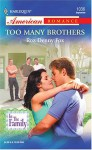 Too Many Brothers - Roz Denny Fox