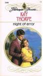 Night of Error - Kay Thorpe