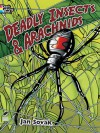 Deadly Insects and Arachnids Coloring Book - Jan Sovak