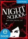 Night School. Der den Zweifel sät - Leseprobe - C.J. Daugherty, Carolin Liepins, Peter Klöss, Axel Henrici