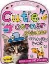 Carry-Me: Cutie Corner Sticker Activity Book - Make Believe Ideas