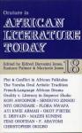 Orature In African Literature Today: A Review - Eldred Durosimi Jones, Marjorie Jones, Eldred Durosimi Jones