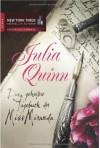 Das geheime Tagebuch der Miss Miranda - Petra Lingsminat, Julia Quinn