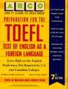 Preparation for the TOEFL: Test of English as a Foreign Language - Grace Yi Qiu Zhong