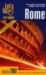 Let's Go Rome 2002 - Let's Go Inc.