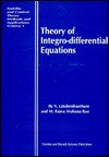 Theory of Integro-Differential Equations - V. Lakshmikantham