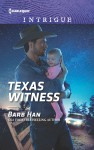 Texas Witness (Cattlemen Crime Club) - Barb Han
