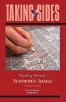 Taking Sides: Clashing Views on Economic Issues - Frank J. Bonello, Isobel Lobo