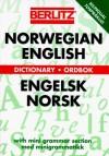 Berlitz Norwegian-English Dictionary/Engelsk-Norsk Ordbok (Berlitz Dictionaries) - Berlitz Publishing Company