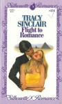 Flight to Romance (Silhouette Romance, #174) - Tracy Sinclair