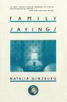 Family Sayings - Natalia Ginzburg