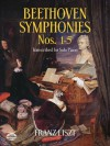 Beethoven Symphonies Nos. 1-5 Transcribed for Solo Piano - Franz Liszt, Ludwig van Beethoven