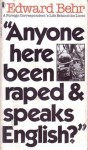Anyone here been raped & speaks English? - Edward Samuel Behr