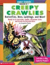 Early Themes Creepy Crawless Bees, Ladybugs, Butterflies, And More (Early Themes) - Jacqueline Clarke