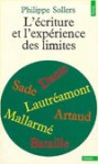 """L'Ecriture et """"L'Expérience des limites"""" - Philippe Sollers"""