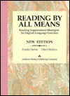 Reading by All Means: Reading Improvement Strategies for English Language Learners - Fraida Dubin, Elite Olshtain
