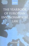 Yearbook of European Environmental Law, Volume 2 - H. Somsen, H. Sevenster, J. Scott