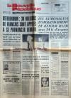 NOUVELLE REPUBLIQUE (LA) du 22/04/1972 - REFERENDUM / 30 MILLIONS DE FRANCAIS SONT APPELES A SE PRONONCER DEMAIN - LES ASTRONAUTES D'APOLLO 16 SERONT DE RETOUR JEUDI - YOUNG ET DUKE - OBJECTIFS / LE BONHEUR NATIONAL BRUT PAR BERNARD - L'OFFENSIVE ROUGE SE - Collectif