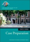Case Preparation - Inns of Court School of Law
