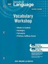 Holt Elements of Language Vocabulary Workshop: Fourth Course - Holt Rinehart
