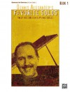 Dennis Alexander's Favorite Solos: Book 1: 10 of His Original Piano Solos - Alfred Publishing Company Inc.