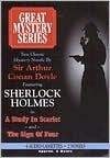 A Study in Scarlet / The Sign of Four (Audio Cassette - ABRIDGED) - Arthur Conan Doyle