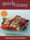 The Recipe Deck: Quick & Easy - Chain Sales Marketing