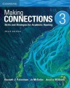 Making Connections Level 3 Student's Book: Skills and Strategies for Academic Reading - Kenneth J Pakenham, Jo McEntire, Jessica Williams