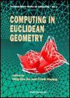 Computing In Euclidean Geometry - Ding-Zhu Du