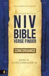 NIV Bible Verse Finder Concordance - John R. Kohlenberger III
