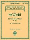 Sonata In G Major, K. 301 (Mozart) - Henri Schradieck, Wolfgang Amadeus Mozart