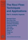 The Ricci Flow: Techniques and Applications (Mathematical Surveys and Monographs) - Bennett Chow, Sun-Chin Chu, David Glickenstein