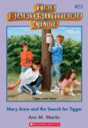 Mary Anne and the Search for Tigger (The Baby-Sitters Club, #25) - Ann M. Martin