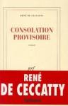 Consolation Provisoire: Roman - René de Ceccatty