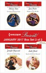 Harlequin Presents January 2017 - Box Set 2 of 2: The Italian's Pregnant VirginA Deal for the Di Sione RingBought to Carry His HeirBound by His Desert Diamond - Maisey Yates, Jennifer Hayward, Jane Porter, Andie Brock