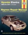 Haynes Hyundai Elantra 1996 thru 2001 - Chilton Automotive Books, Larry Warren