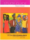 Exploring Psychology, Sixth Edition, in Modules Study Guide - Richard O. Straub