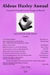 Aldous Huxley Annual: Volume 9 (2009) - Bernfried Nugel, Jerome Meckier, James Sexton