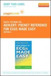 Pocket Reference for Ecgs Made Easy - Pageburst E-Book on Vitalsource (Retail Access Card) - Barbara J. Aehlert