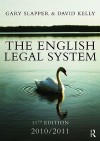 The English Legal System - Gary Slapper, David Kelly