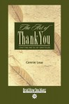 The Art of Thank-You - Connie Leas