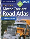 2009 Deluxe Motor Carriers Road Atlas (Rand Mcnally Motor Carriers' Road Atlas Deluxe Edition) - Rand McNally