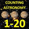 Counting Numbers 1-20 Astronomy (with NASA Space Photos) - Chris McMullen