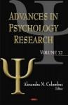 Advances in Psychology Research, Volume 72 - Alexandra M. Columbus