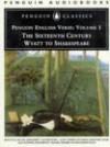 English Verse: Volume 1: The Sixteenth Century: Wyatt to Shakespeare - Penguin Audiobooks