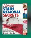 Natural Stain Removal Handbook - Deborah L. Martin